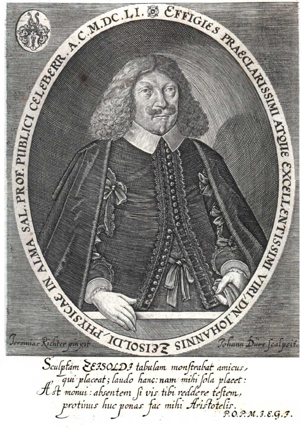 Portrait of Johann Zeisold,  Image number:SIL14-Z001-02a