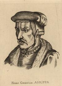 Portrait of Heinrich Cornelius Agrippa von Nettesheim