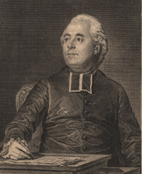 Portrait of Charles Bossut