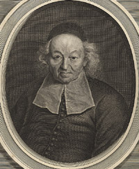 Portrait of Ismael Boulliau