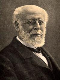Portrait of Moritz Cantor