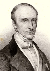 Portrait of Augustin Louis Cauchy