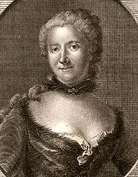 Portrait of Gabrielle-Émilie Le Tonnelier de Breteuil, marquise du Chatelet