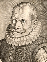 Portrait of Carolus Clusius