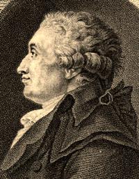 Portrait of Jean-Antoine-Nicolas de Carita Condorcet