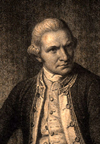 Portrait of James Cook