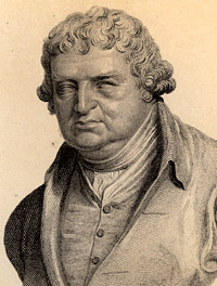 Portrait of Erasmus Darwin