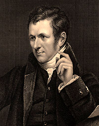 Portrait of Humphry Davy