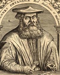 Portrait of Johann Dryander