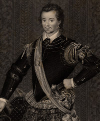 Portrait of Robert Dudley