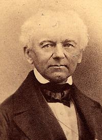 Portrait of Andreas von Ettingshausen