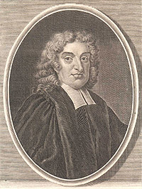 Portrait of John Flamsteed
