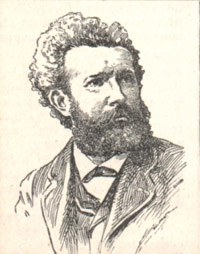 Portrait of Camille Flammarion