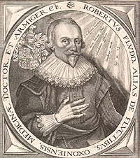 Portrait of Robert Fludd