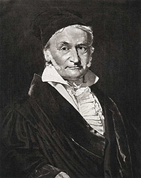 Portrait of Carl Friedrich Gauss