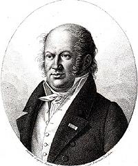 Portrait of Etienne Geoffroy Saint Hilaire