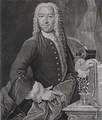 Portrait of Johannes Gesner