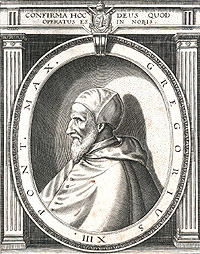Portrait of Pope Gregory XIII