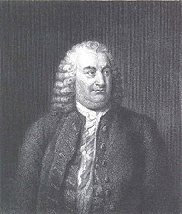 Portrait of Albrecht von Haller