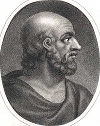 Portrait of Hippocrates