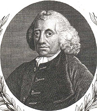 Portrait of John Huxham