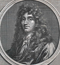 Portrait of Christiaan Huygens