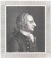 Portrait of Abraham Gotthelf Kaestner