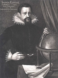 Portrait of Johannes Kepler