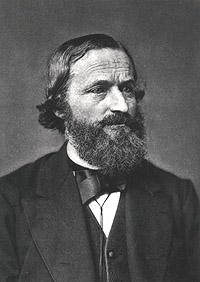 Portrait of Gustav Kirchhoff