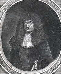 Portrait of Johannes Kunckel