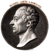 Portrait of Joseph Louis Lagrange