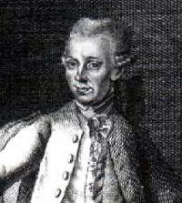 Portrait of Johann Heinrich Lambert