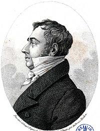Portrait of Jean Vincent Félix Lamouroux