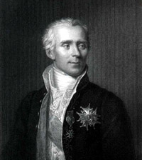 Portrait of Pierre Simon Laplace