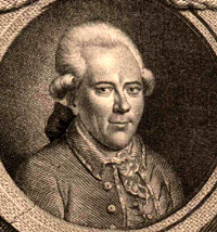 Portrait of George Christoph Lichtenberg