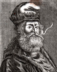 Portrait of Ramon Llull