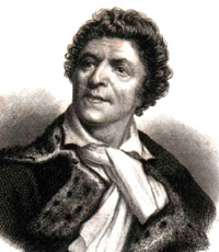 Portrait of Jean Paul Marat