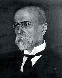 Portrait of Tomáš Garrigue Masaryk