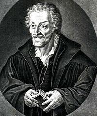 Portrait of Philippus Melanchthon