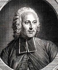 Portrait of Abbé Jean Antoine Nollet