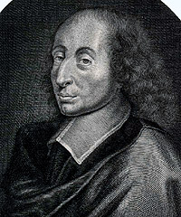 Portrait of Blaise Pascal