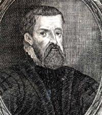 Portrait of Johann Praetorius