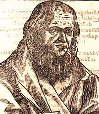 Portrait of Johann Schöner