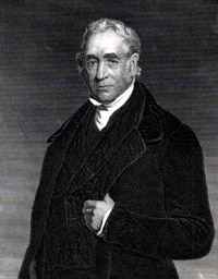 Portrait of George Stephenson