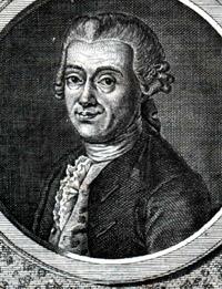 Portrait of Johann Daniel Titius