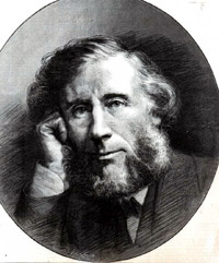 Portrait of John Tyndall