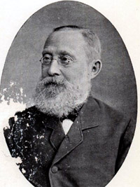 Portrait of Rudolf Ludwig Karl Virchow