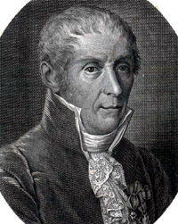 Portrait of Alessandro Volta