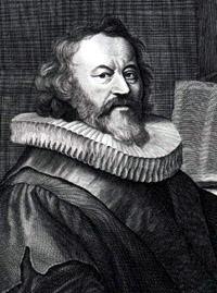 Portrait of Gerardus Joannes Vossius