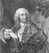 Portrait of Christian Freiherr von Wolff